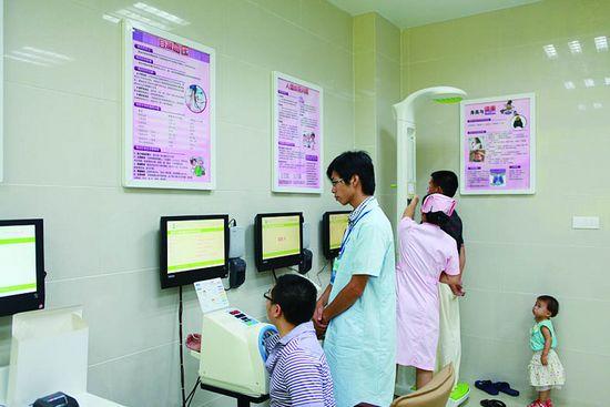 北京东城区社区服务中心儿童生长发育测试仪安装